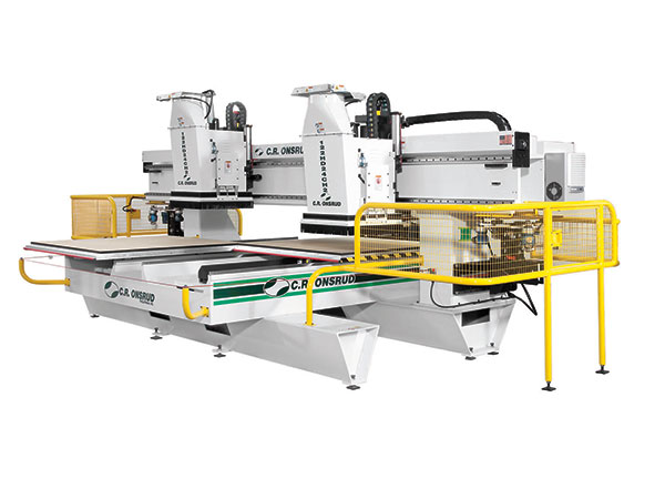 98HD18H2 Dual Process CNC Router Left View