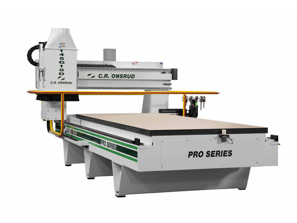 14G18 CNC Router Front View