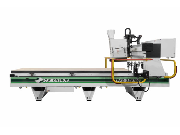 14G18 CNC Router Side View