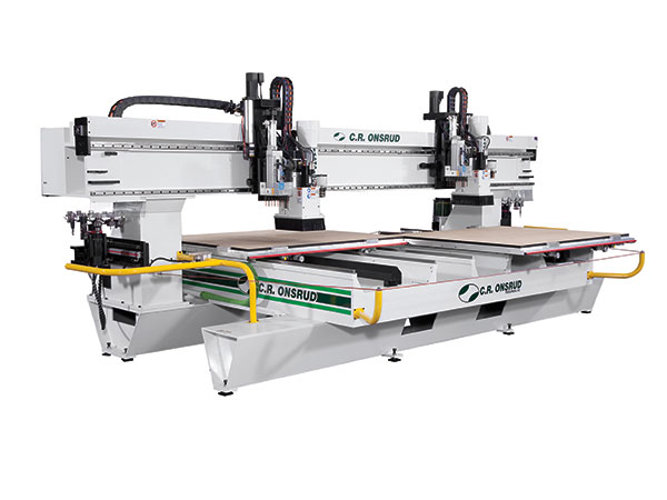 148HD18H2 Dual Process CNC Router Front View