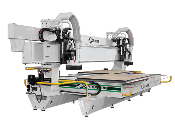 98HD18H2 Dual Process CNC Router Right View
