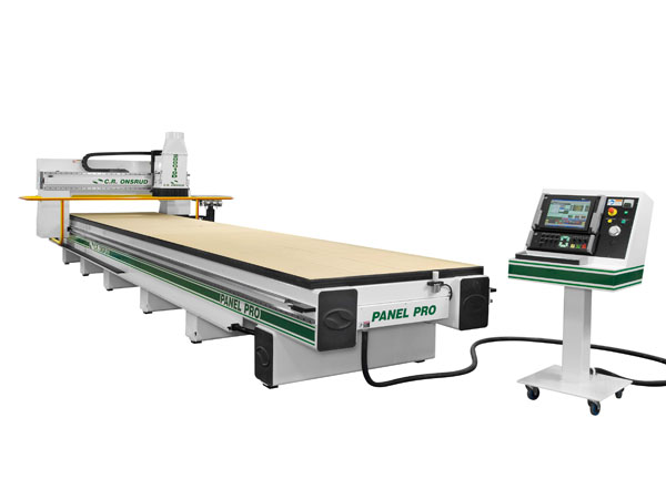 288G18D CNC Router Left View