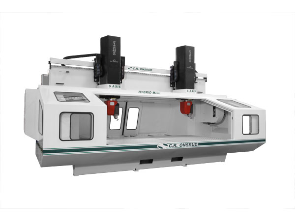 F148HM50H2 5-Axis Hybrid Mill CNC Doors Open View