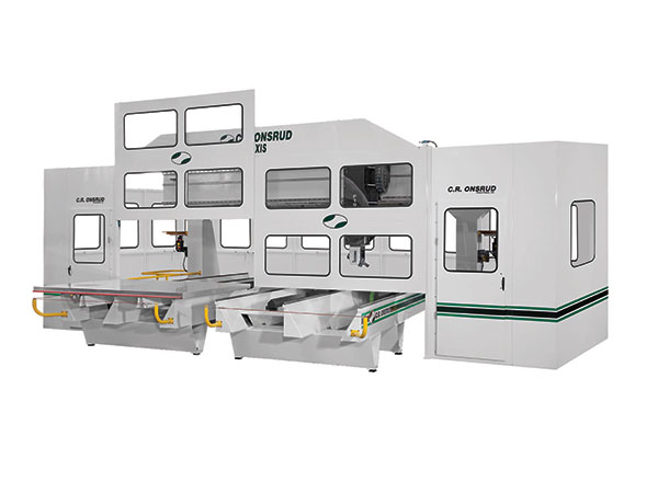 F194HD15 5-Axis CNC Router Front View