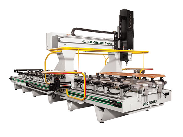 F216G25 5-Axis CNC Router Right View