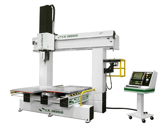 F74HD15 5-Axis CNC Router Right View
