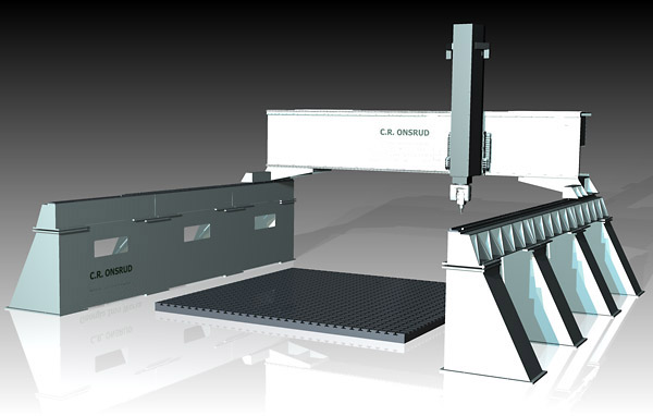 High Rail 3D CAD Model
