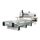 Right Side View of 145G Pro Series CNC Router with Optional Aluminum Router Bed