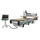 Side View of 145G CNC Router with Phenolic Router Bed