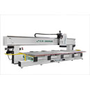 Left Side View of 194HD18 Extrem Duty CNC Maching Center