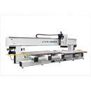 Left Side View of 194HD18 Extrem Duty CNC Maching Center with Split Tables