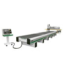 288G Pro Series CNC Router Shown with Multiple Zones for Pendulum Process Operation