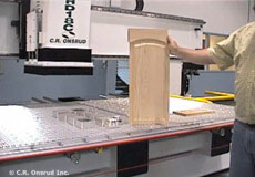 Cabinet Door on CNC Router