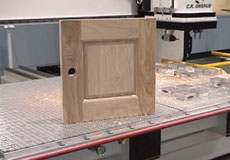 5-piece door on CNC Router