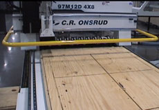 OSB on CNC Router