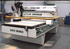 Melamine Book Case on Mate Series CNC Router