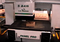 5-Axis CNC Router Test