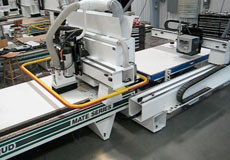 CNC Router with Automated Material Handling