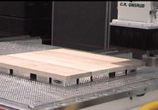 Sanding Head on CNC Router