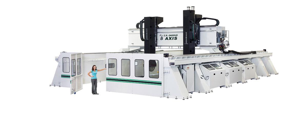 5 Axis Moving Gantry Cnc Machine Center